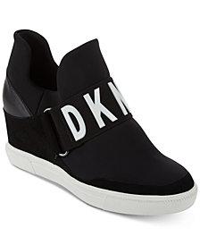 DKNY Cosmos Wedge Sneakers