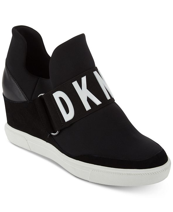 DKNY Cosmos Wedge Sneakers