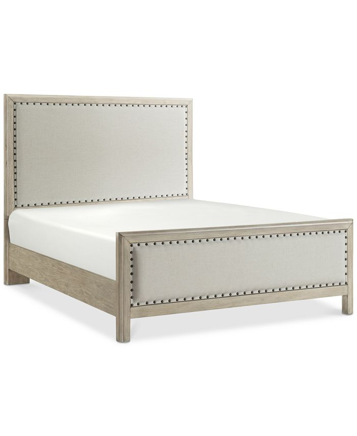 Furniture - Parker Upholstered Queen Bed, Created for Macy's