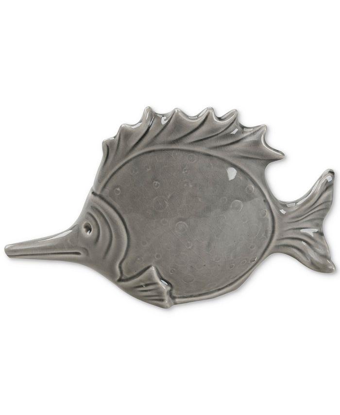 JLA Home - Madison Park Pescado Ceramic Fish Shaped Decor