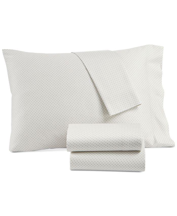 Lucky Brand - Kashmir Cotton Sateen 230-Thread Count 4-Pc. Printed King Sheet Set
