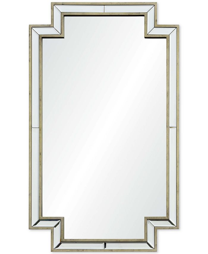 Furniture - Raton Medium Rectangular Mirror, Quick Ship