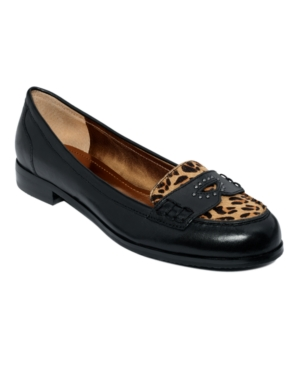 Ellen Tracy Shoes, Relay Penny Loafer Flats Women's Shoes