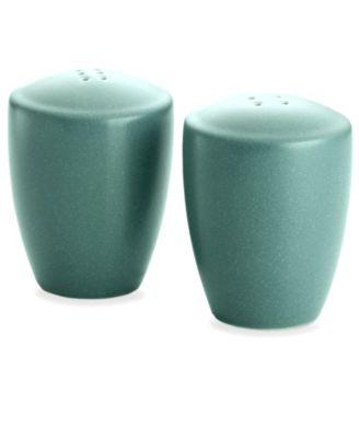 Noritake Dinnerware, Colorwave Turquoise Salt and Pepper Shakers