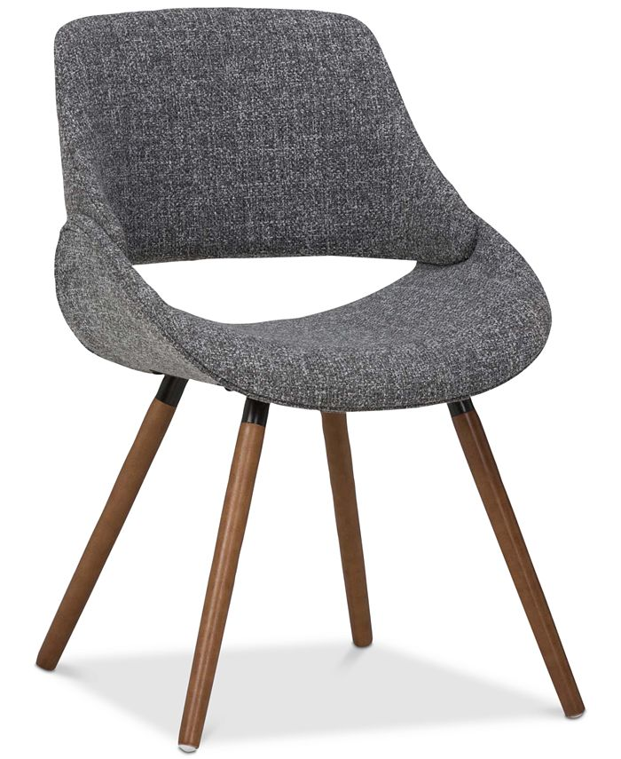 Simpli Home - Colba Dining Chair, Quick Ship