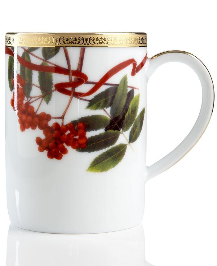 Charter Club - Holly Berry Round Mug