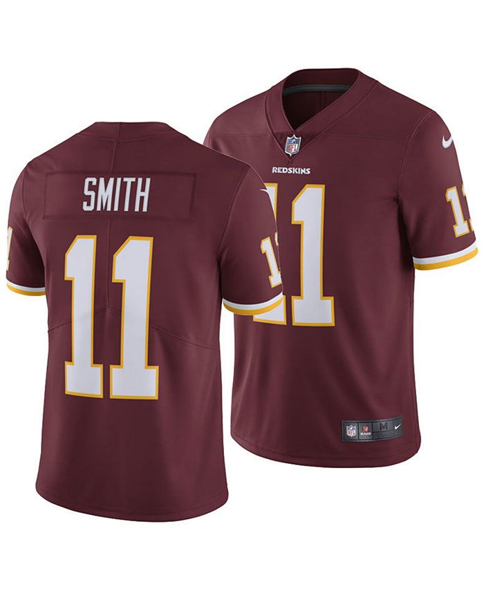 Nike Men's Alex Smith Washington Redskins Vapor Untouchable ...