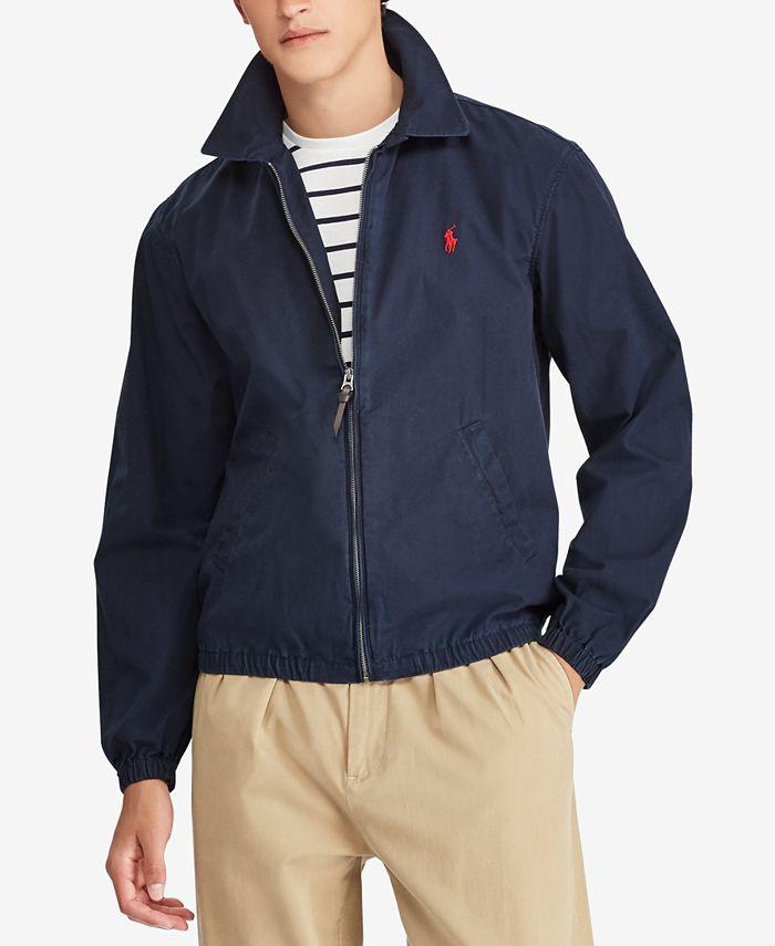 Polo Ralph Lauren - Men's Bayport Cotton Windbreaker