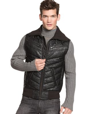 Guess Vest Quilted Vest Web ID 587659