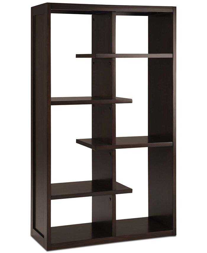 Simpli Home - Risten Bookcase, Quick Ship