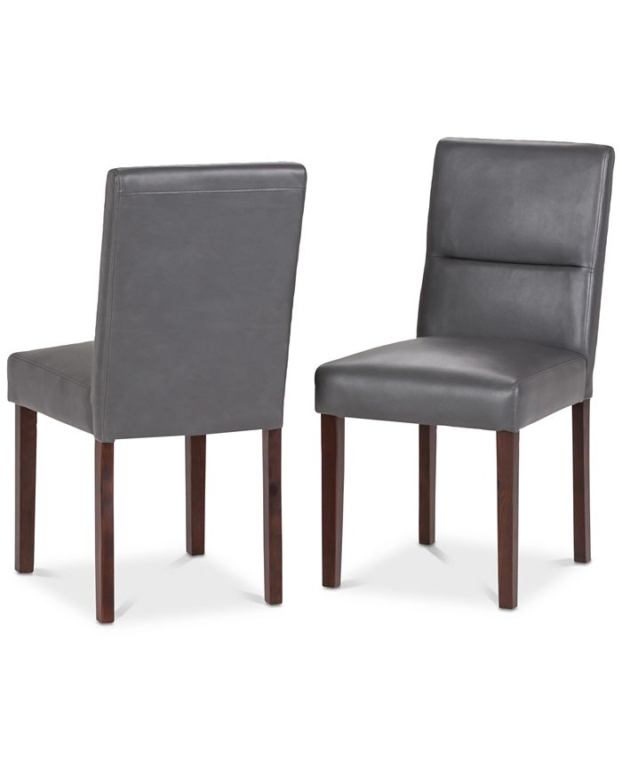 Simpli Home - Norvan Dining Chair (Set of 2), Quick Ship