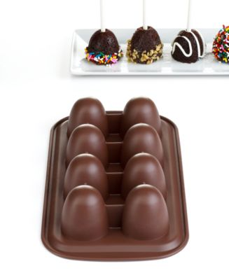 Wilton Brownie Pop Silicone Mold, 8 Count