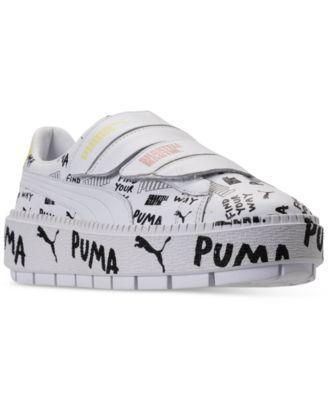 Puma Women's Platform Trace Leather