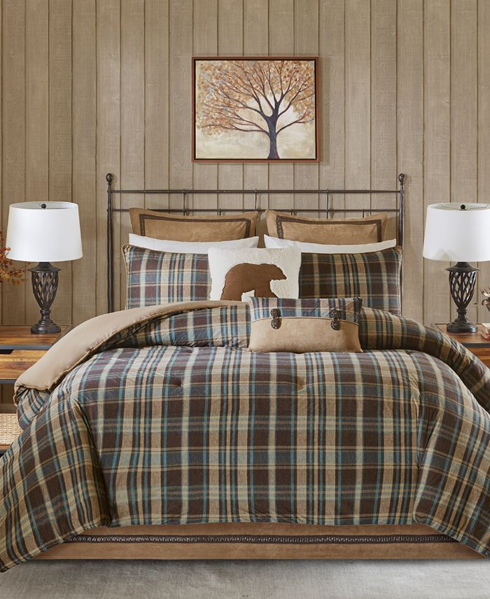 Woolrich - Hadley Plaid Reversible 3-Pc. Twin Comforter Set