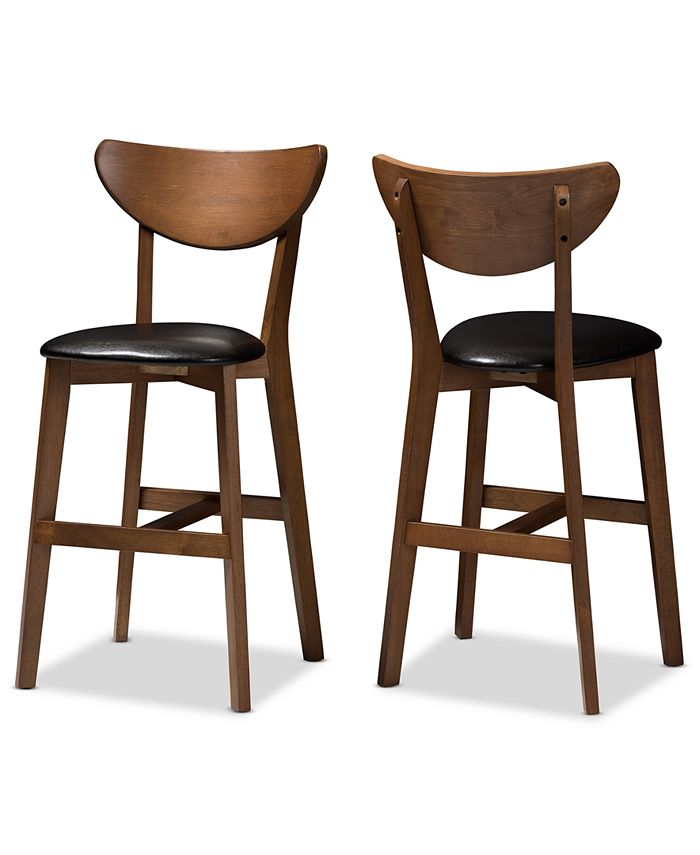 Furniture - Bethanye Counter Stool (Set Of 2), Quick Ship