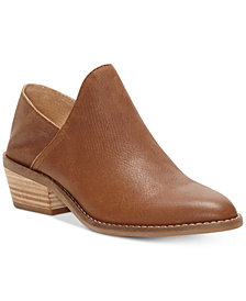 Lucky Brand Women's Fausst Crashback Leather Shooties