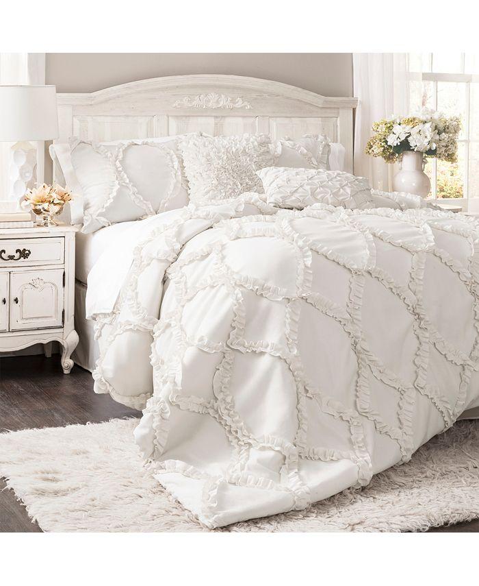 Lush Décor - Avon 3-Piece King Comforter Set
