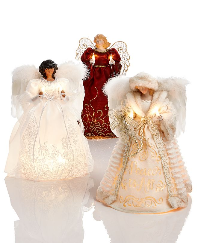 Holiday Lane Tree Topper Collection, Created for Macy's