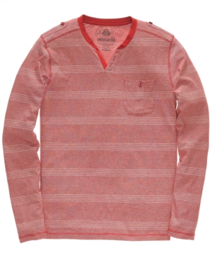 American Rag Shirt, Wide Stripe Pocket