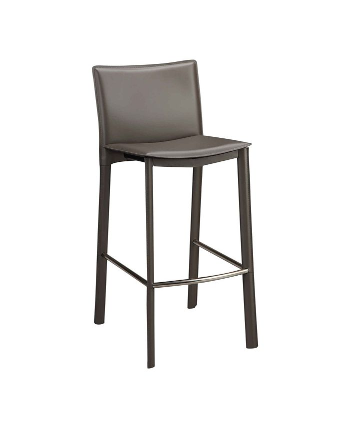 """Moe's Home Collection - PANCA COUNTER STOOL 26"""" CHARCOAL"""