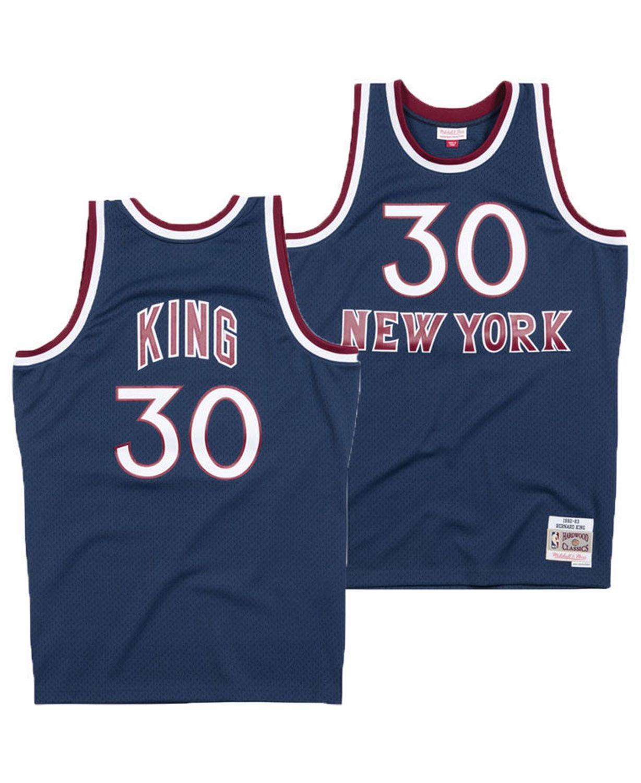 Mitchell & Ness Men's Bernard King New York Knicks Hardwood Classic Swingman Jersey & Reviews - Sports Fan Shop By Lids - Men - Macy's