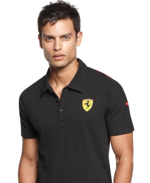 Puma Shirt Ferrari Shield Polo