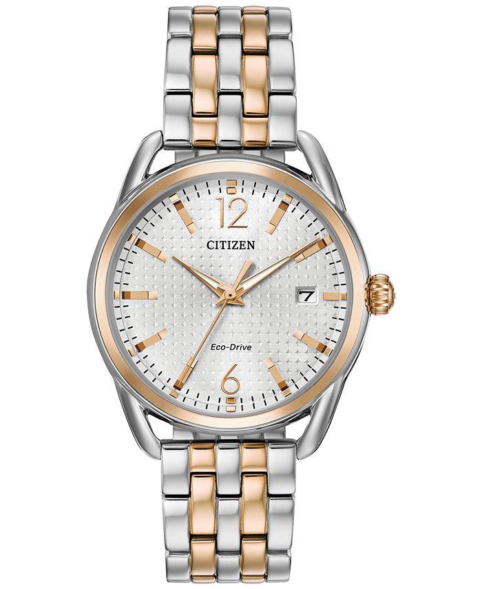 Citizen - Women's Two-Tone Stainless Steel Bracelet Watch 36mm