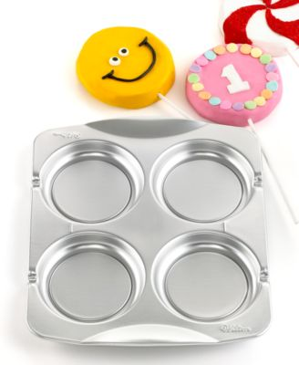Wilton Cookie Pop Pan, 4 Cavity