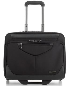 Samsonite Laptop Friendly Rolling Briefcase, Mobile Overnighter