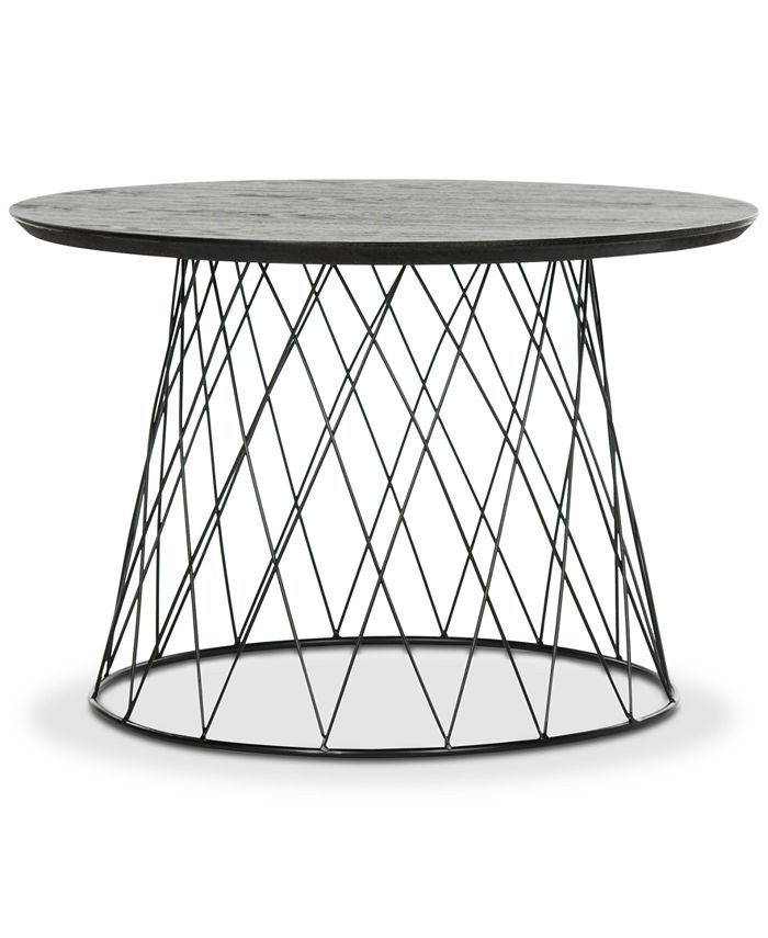 Safavieh - Roper Wood End Table, Quick Ship