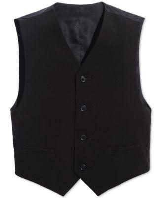 Big Boys Slim Fit Stretch Suit Vest
