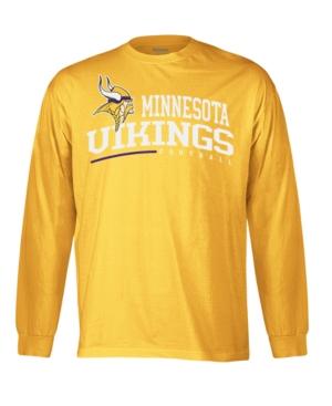 Reebok NFL T Shirt, Minnesota Vikings Arched Horizon Long Sleeve Tee