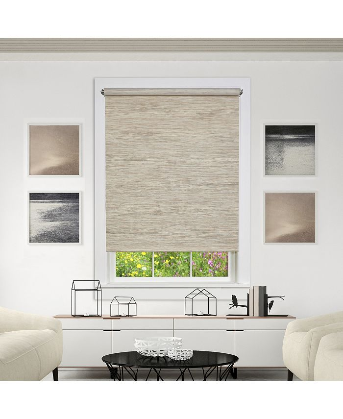 Achim - Cords Free Privacy Jute Shade 34X72 Natural