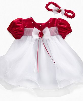 Rare Editions Baby Dress Baby Girls Holiday Dress Kids