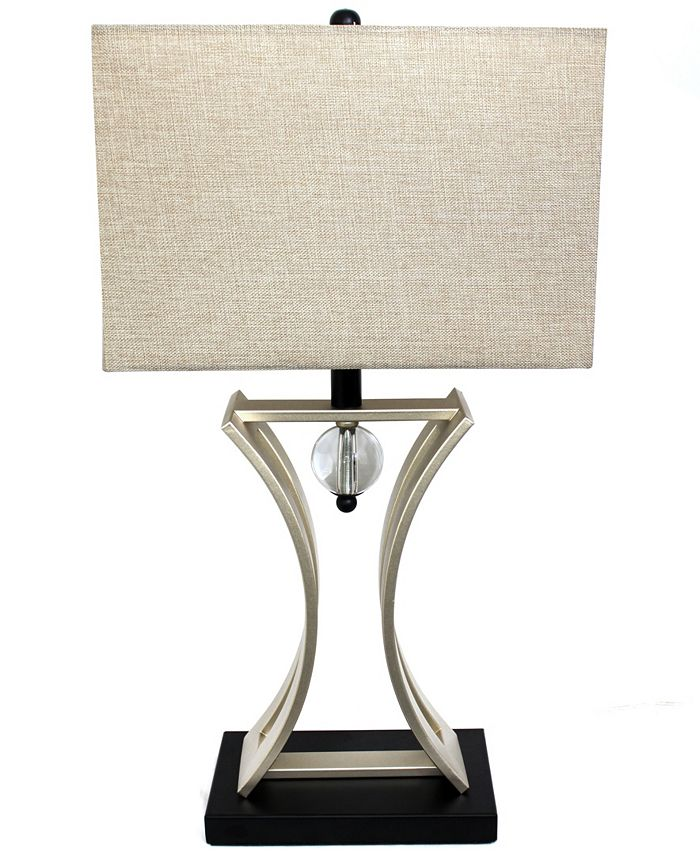 All The Rages - Chrome Executive Business Table Lamp