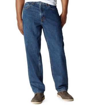Big and Tall 560 Comfort-Fit Dark Stonewash Jeans