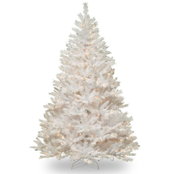National Tree Company 6 .5' Winchester White Pine Tree with 400 Clear Lights