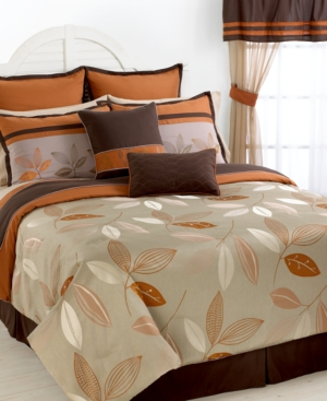Henley 24 Piece Queen Comforter Set Bedding