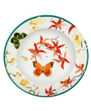 Zrike Dinnerware, Lulu Petals Rim Soup Bowl