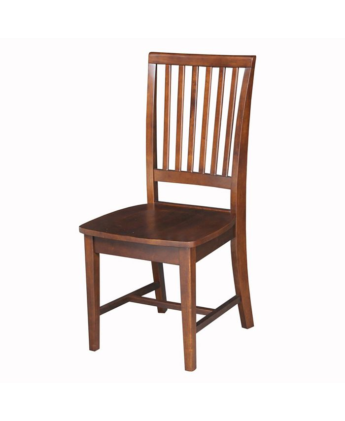 International Concepts - Mission Side Chair , Set of 2