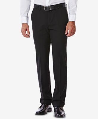 J.M. Men's Slim-Fit 4-Way Stretch Suit Pants
