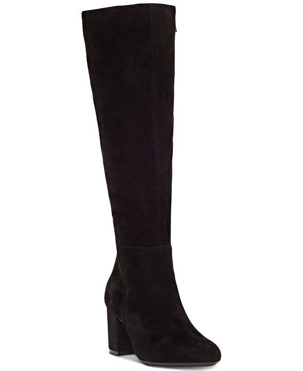 INC International Concepts INC Women's Radella Wide-Calf Dress Boots, Created for Macy's