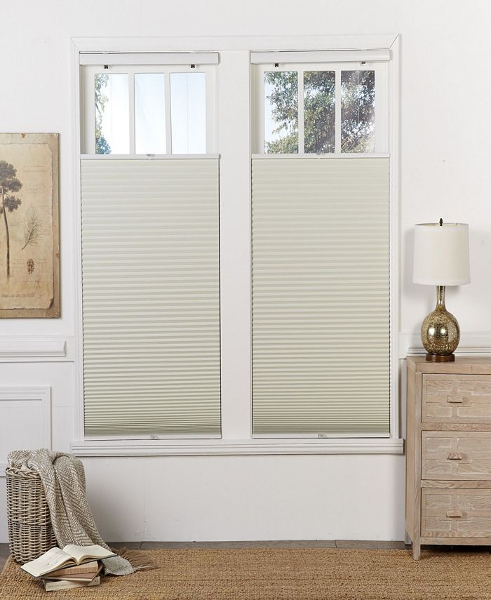 The Cordless Collection - Cordless Blackout Top Down Bottom Up Shade,  21.5x72