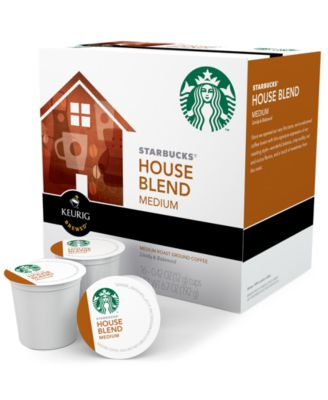 Keurig 9516 K-Cup Portion Packs, 16 Count Starbucks House Blend