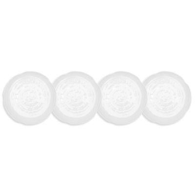 Pearl Melamine 4-Pc. Appetizer Plate Set
