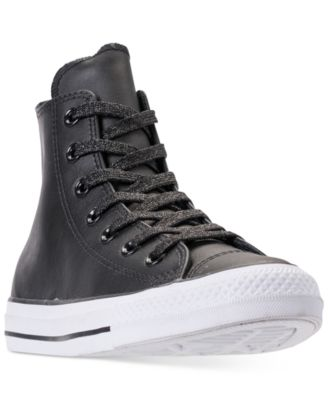 converse all star leather high top