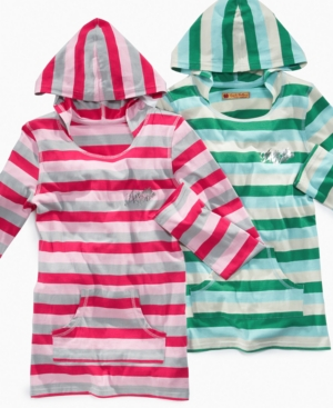 Apple Bottoms Kids Shirt, Girls Striped Hoodie