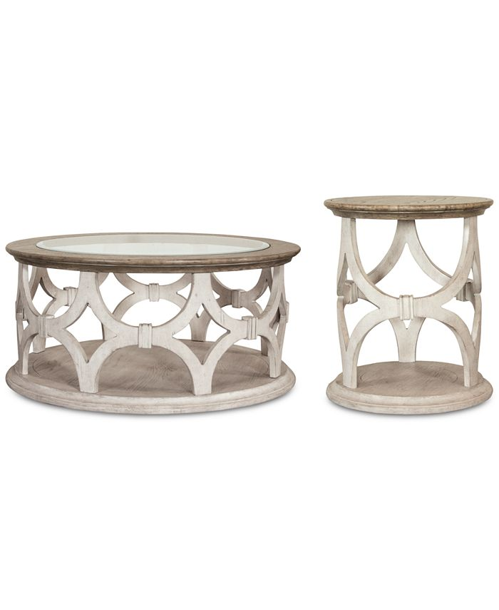 Furniture - Hadley Table , 2-Pc. Set (Coffee Table & Side Table)