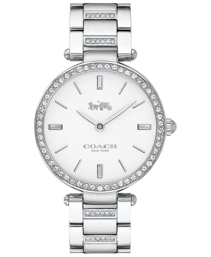 COACH - Women's Park Stainless Steel Bracelet Watch 34mm