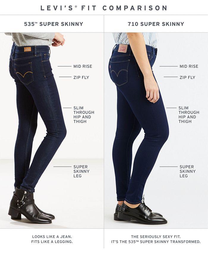 Levi's - 535™ Super SkinnyWild Descent Wash Jeans